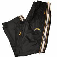 NFL Team Apparel Men's Chargers Tailgate Team Pants Waterproof Black Large 36-38