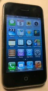 Apple iPhone 3GS - 8GB - Black (AT&T) A1303 (GSM) Fast Ship Excellent Used