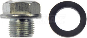 2 DORMAN Engine Oil Drain Plugs 090-039 M16.4-1.33 fits NISSAN 280Z 200SX OTHERS