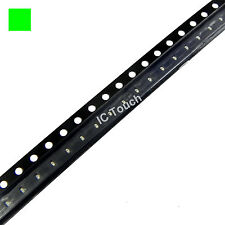 100pcs GREEN SMD SMT LED 0402 Superbright Green LEDs lamp light