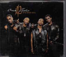 One Twelve-Its Over Now cd maxi single