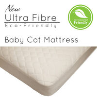 Ultra Fibre Cot Bed Mattress for Cot Beds And Baby Cribs Eco-Friendly For Babies