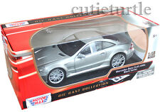 Motormax Mercedes Benz SL 65 Amg Black Series 1:18 Diecast 79161 Grey