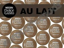 Dolce Gusto Au Lait Coffee Pods, 30 Capsules, 30 Drinks Sold Loose