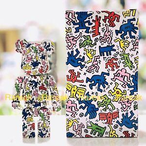 Medicom 200% Bearbrick 2019 Keith Haring version 1 Chogokin be@rbrick 1pc