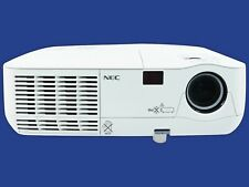 NEC NP215 DLP Projector 3D Refurbished 2500 HD 1080i HDMI-adapter, Remote