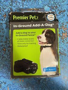 PREMIER PET IN-GROUND ADD-A-DOG GIG00-16920 New DAMAGED BOX