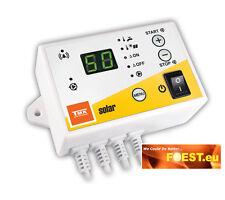 Temperatur Differenzregler MTS-8S Solarkollektor Puffer Swimmingpool Warmwasser