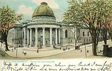 1901-1907 Tuck Postcard;Woolsey Hall & Dining Hall, Yale University New Haven Ct
