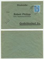 83266 - Beleg Staatslotterie - Bischheim-Gersdorf 5.11.1931 nach Großröhrsdorf