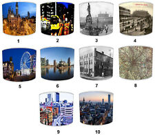 City of Manchester Lampshades, Ideal To Match city of manchester Wall Decals