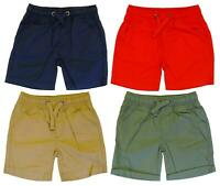 Boys Shorts Ex Mothercare Cotton Summer Short (4 Colours) 3 Months to 10 Years