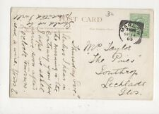 Mrs Taylor The Pines Southrop Lechlade Gloucestershire 1905 543a