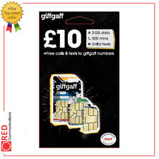giffgaff no contract £10 + 2GB Data + 500 Mins + Unlimited Texts