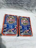 Lot Of 2 1992 Upper Deck Baseball Edition High # Factory Sealed 36 Wax Foil Box