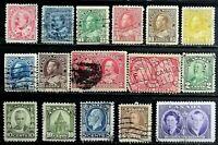 1903-1951 > CANADA > Canadian Vintage Stamps > Used, Unused, Hinged.