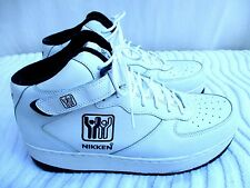NIKKEN..WEIGHTED..LEATHER..HIGHTOP..WORKOUT..EXERCISE..SHOES..sz 12.5 MEN