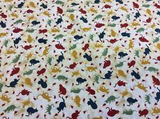MOLLE-Concord, Gatti su Quilts #1521 - Silhouette GATTI TOPI + - 100% COTONE