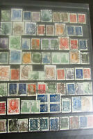 Russia Stamp Lot on 2 Pages All Early on the Nose Cancels