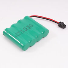 Rechargeable 4.8V 500mAh Ni-MH AA Battery Pack SM 2P Plug for RC Toys