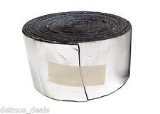 "13 SqFT 50mil Car Sound Deadener Insulation Roll 4"" Wide with Dynamat Sample"
