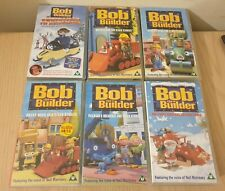 Bob The Builder Bundle VHS White Christmas Naughty Spud  mucky Muck Video Tapes