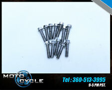 12 2012 TRIUMPH STREET TRIPLE R 675R STATOR COVER MOUNTING BOLTS 675 T14