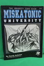 Call of Cthulhu Guide Book Miskatonic University #2352 HP Lovecraft Chaosium RPG