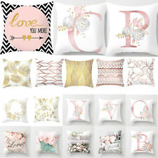 Polyester Pillow Case Soft Geometric Cushion Cover Bedroom Sofa Home Decoration