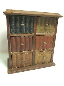 VINTAGE CADBURY'S COCOA CHEST OF DRAWERS BOOK BOX