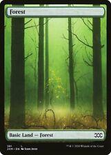 Magic the Gathering (mtg): 2XM: Forest # 381 - Full Art - Foil