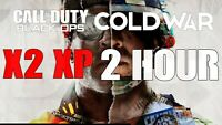 Call of Duty Black Ops Cold War 2 HOUR 2XP INSTANT DELIVERY (All Platforms!)