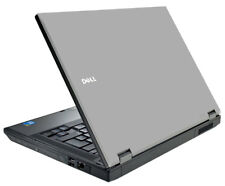 SILVER GRAY Vinyl Lid Skin Cover Decal fits Dell Latitude E5410 Laptop