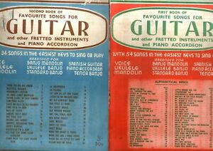 FAVORITE SONGS FOR GUITAR &OTHER INSTRUMENTS 1948 SONGBOOK 88 songs words /music