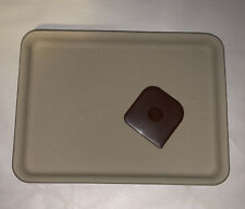 """Pampered Chef Small Bar Pan Toaster Oven Cookie Sheet Stoneware 9x7"""" #1448 - NEW"""