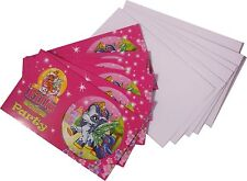 6 Einladungskarten Filly Fairy incl. 6 Umschläge Feen Kinder Geburtstag Mädchen