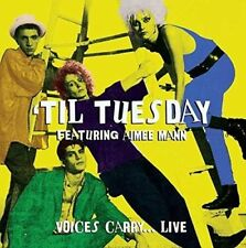 TIL TUESDAY - Feat. AIMEE MANN - VOICES CARRY... LIVE (NEW/SEALED) CD