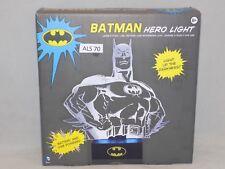 BATMAN HERO LIGHT (LAMP)  NIB THESE ARE BRIGHT WORK GREAT (ALS 70)