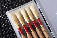 Reed Expression 10 Pcs German Oboe Reeds Medium Hard Cork Reeds