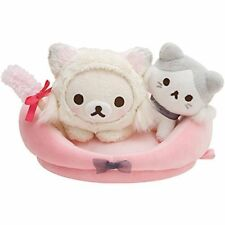Rilakkuma Koryirakkuma Cat Bed Stuffed Set Japan