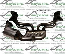 Catalytic Converter-Exact-Fit Front Davico Exc CA 17367