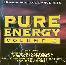 NEW Pure Energy Volume -3- (Audio CD)