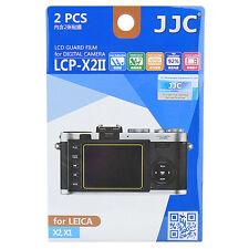 2x Film Protection Ecran LCD H3 pour Appareil Photo Leica X2 X1
