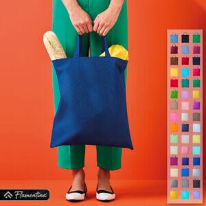 Cotton Tote Shopping Bag Short Handle Nutshell Shopper Carrier Sack Reusable