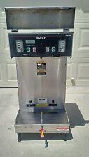 Bunn Dual Sh Dbc Commercial Coffee Brewer Maker Machine w/ Hot Water! industrial