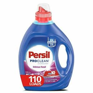 Liquid Laundry Detergent, ProClean Intense Fresh, 2X Concentrated, 110 Loads