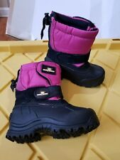 Arctic Shield Childs Snow Boots Comfort kids   water proof Size 8