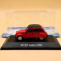IXO 1/43 Citroen IES 3CV America 1986 Diecast Models Limited Edition Toys Car