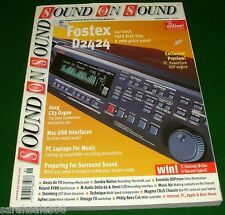 Lot of 15 Sound on Sound Magazines: Recording Cher's Believe, KORG CX3 Trinity