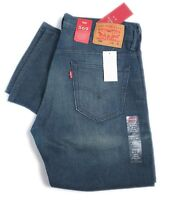 Levis Mens 569 Loose Fit Straight Leg Zip Jeans Blue Denim W31, W32 005690218